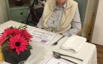 Paula celebrates her 101st Birthday!