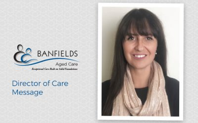 Director of Care Message – Lara Basso